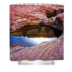 Watery Portal Shower Curtain by Christopher Holmes