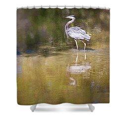 Watery World - Shower Curtain