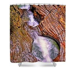 Watkins Glen - Rainbow Falls 005 Shower Curtain
