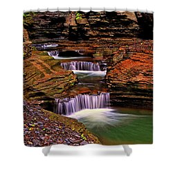 Watkins Glen State Park 014 Shower Curtain