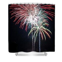 Waukesha Fireworks 01 Shower Curtain