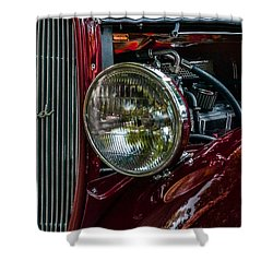 Waupaca Streetrod Shower Curtain