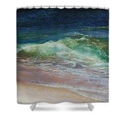 Wauwinet Wave IIi Shower Curtain by Jeanne Rosier Smith
