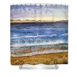 Wave 2 Shower Curtain