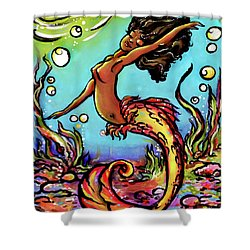 Wave Dancer  Shower Curtain