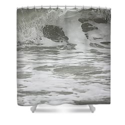 Wave Dropping Shower Curtain