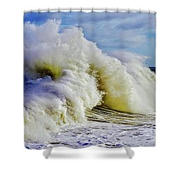 Moody Surf Shower Curtain