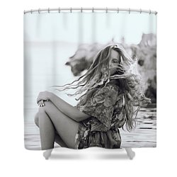 Wave It Shower Curtain