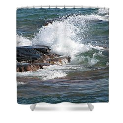Wave Length Shower Curtain