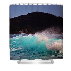 Wave Of Fantasy Shower Curtain by Craig Wood