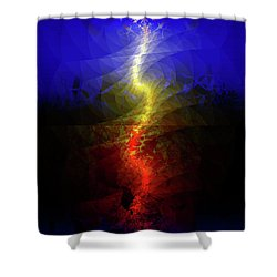 Wave Of Possibility Shower Curtain