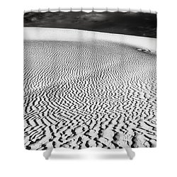 Shower Curtain featuring the photograph Wave Theory V by Ryan Weddle
