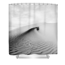 Wave Theory Vi Shower Curtain