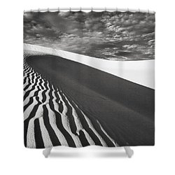 Wave Theory Vii Shower Curtain by Ryan Weddle