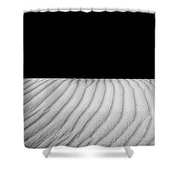 Wave Theory Viii Shower Curtain by Ryan Weddle