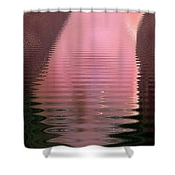 Shower Curtain featuring the photograph Waves That Are Me by Carolina Liechtenstein