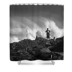 Wavewatchers Shower Curtain
