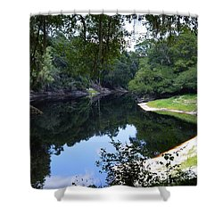 Way Down Upon The Suwannee River Shower Curtain by Warren Thompson