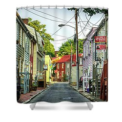Way Downtown Shower Curtain