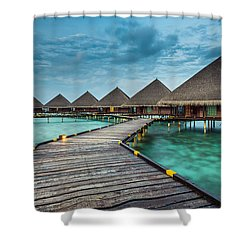 Way To Luxury 2x1 Shower Curtain