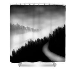 Way To The Unknown Shower Curtain