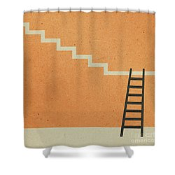 Way Up Shower Curtain