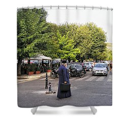 Shower Curtain featuring the photograph Ways To Stop Traffic  by Connie Handscomb