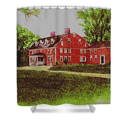 Wayside Inn 1875 Shower Curtain