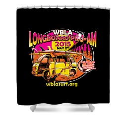 Wbla 2015 For Promo Items Shower Curtain by William Love
