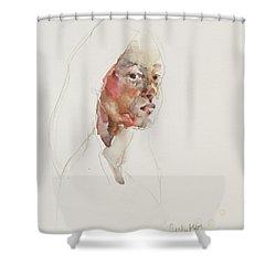 Wc Mini Portrait 3             Shower Curtain