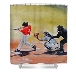 Wcu At The Plate Shower Curtain