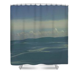 We Are One Shower Curtain by Laurie Search