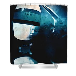 We Are Sailing  Shower Curtain by Andrew Hunter