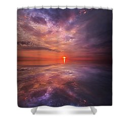 We Are The Dreamers Of Dreams Shower Curtain by Phil Koch