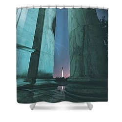 We Hold These Truths Shower Curtain