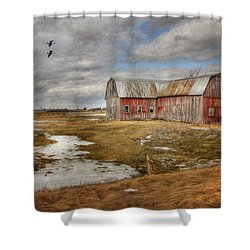 We Lived The Life Shower Curtain by Lori Deiter