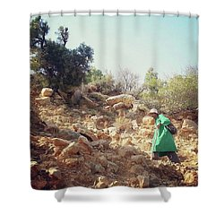 Berber Shepherd Shower Curtain