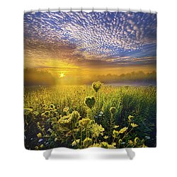 We Shall Be Free Shower Curtain