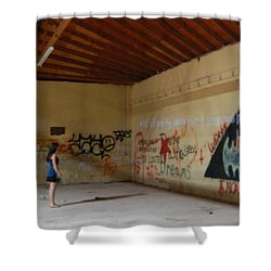 Wear House  Shower Curtain
