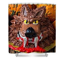 Wearwolf Cake Shower Curtain