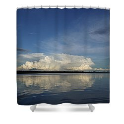 Weather From Tampa Bay 871 Shower Curtain