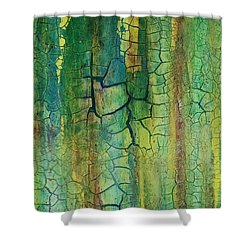 Weathered Moss Shower Curtain