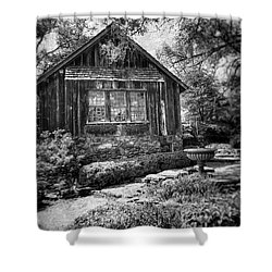 Weathered With Time Shower Curtain
