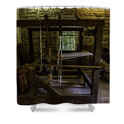 Weaving Room Shower Curtain by Ken Frischkorn