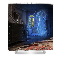 Wedding Calamity Shower Curtain