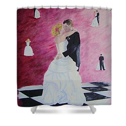 Wedding Dance Shower Curtain