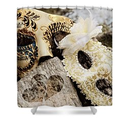 Wedding Eyes Shower Curtain