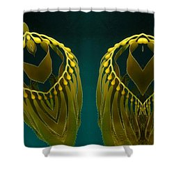 Weed 2 Shower Curtain by Ron Bissett