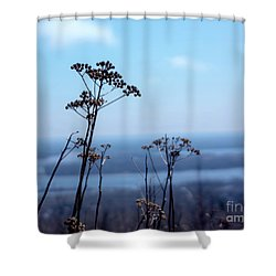 Weeds Shower Curtain