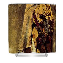 Weeks Edwin Moorish Guard Shower Curtain